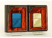 Подарочная зажигалка кремниевая ZIPPO газ