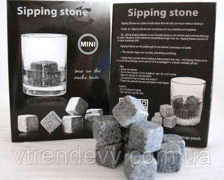 Камни для охлаждения виски Sipping Stone