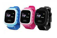 Детские телефон-часы с GPS трекером GOGPS ME K11 Синие (K11BL)