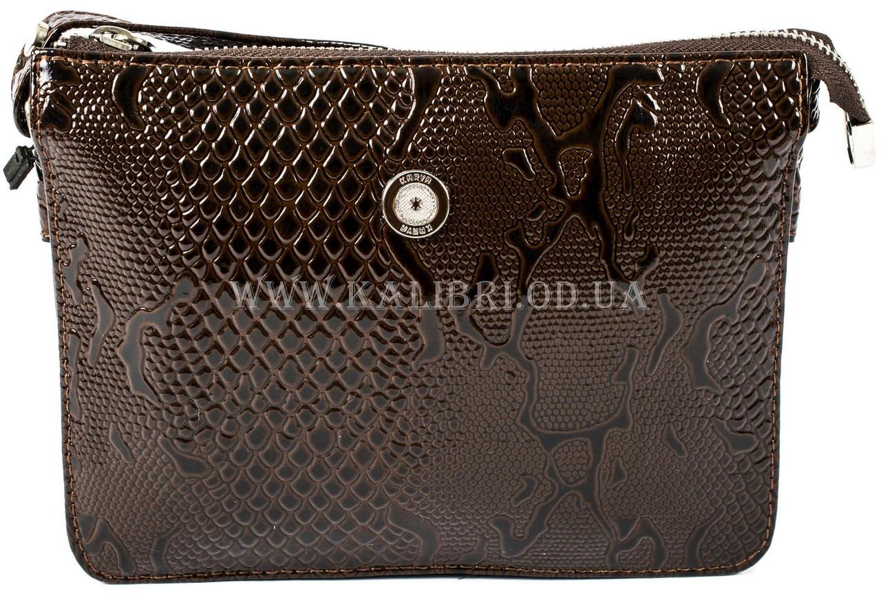 Распродажа! Клатч женский натуральная кожа Karya 0732-015 Турция