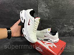 Кроссовки Nike Air Max Tn белые  зима , код6610, фото 3