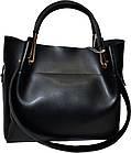 Женская черная сумка с клачем из натуральной замши Michael Kors (24*28*14), фото 2