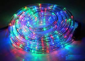 Новогодние Гирлянды Дюрлайт 240Led 10метров внутренний / внешний - уличный цветная RGB