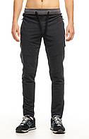 Модные молодежные мужские штаны Cross (Кросс) весна/осень цвета антрацит - размеры S M L