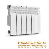 Радиатор отопления 300/85 алюминиевый HeatLine