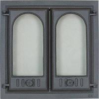 Дверца чугунная SVT 400 для печи и камина (595 х 545 мм)