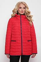 Куртка жіноча Нонна червона, фото 1