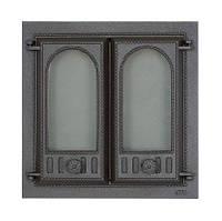 Дверца чугунная SVT 401 для печи и камина (500 х 500 мм)