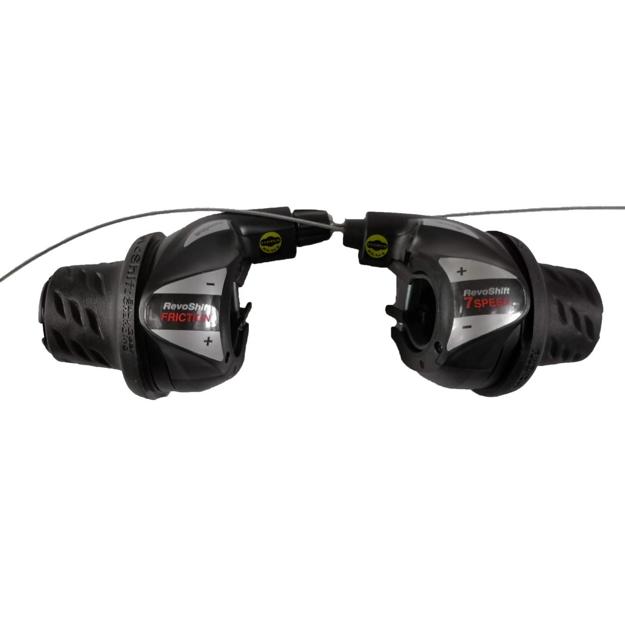 Манетки RevoShift Shimano SL-RS36-7 3 и 7 скоростей