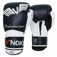 Боксерские перчатки V`Noks Aria White 10 ун.