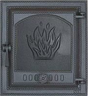 Дверца чугунная SVT 411 для печи и камина (415 х 380 мм)