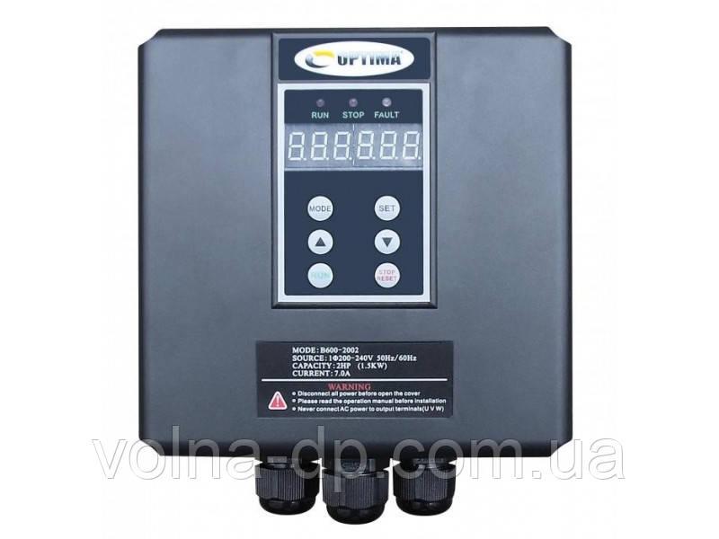 Частотный преобразователь Optima B601-2003 2.2кВт для 1-фазных насосов