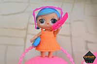 ЛОЛ и много аксессуаров (телефон, фотоаппарат, очки, клатч, сумка) LOL LQL 2 серия. Кукла в шаре.