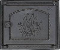 Дверца чугунная SVT 450 для печи и камина (290 х 345 мм)
