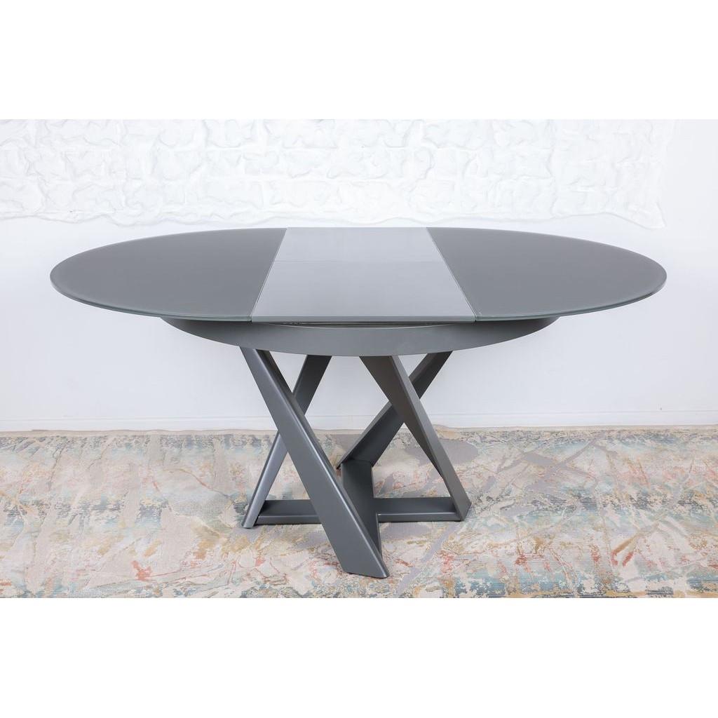 Edinburh (Эдинбург) стол раскладной 110-155 см графит