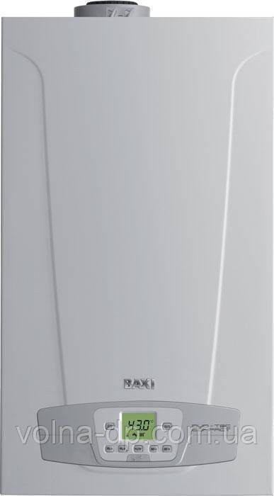 Котел газовый конденсационный Baxi DUO-TEC COMPACT 28 + GA +комплект трубы