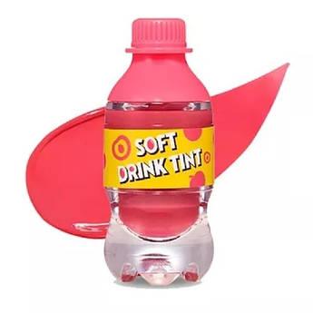 Тинт для губ Etude House Soft Drink Tint Peach Tok Tok Tok PK001