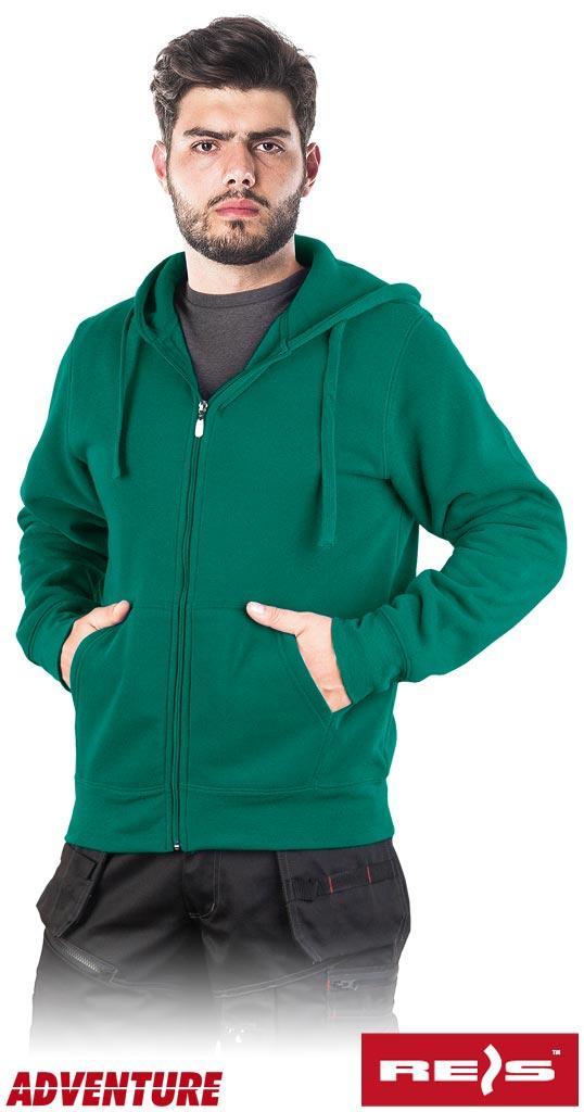 Защитная блуза мужская рабочая REIS Польша с капюшоном SMOKER DZ