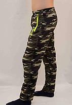 Брюки спортивные камуфляжные зимние с карманами на молнии, фото 3