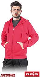 Защитная блуза мужская рабочая REIS Польша с капюшоном SMOKER C