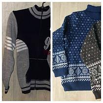 Вязаные свитера на мальчиков