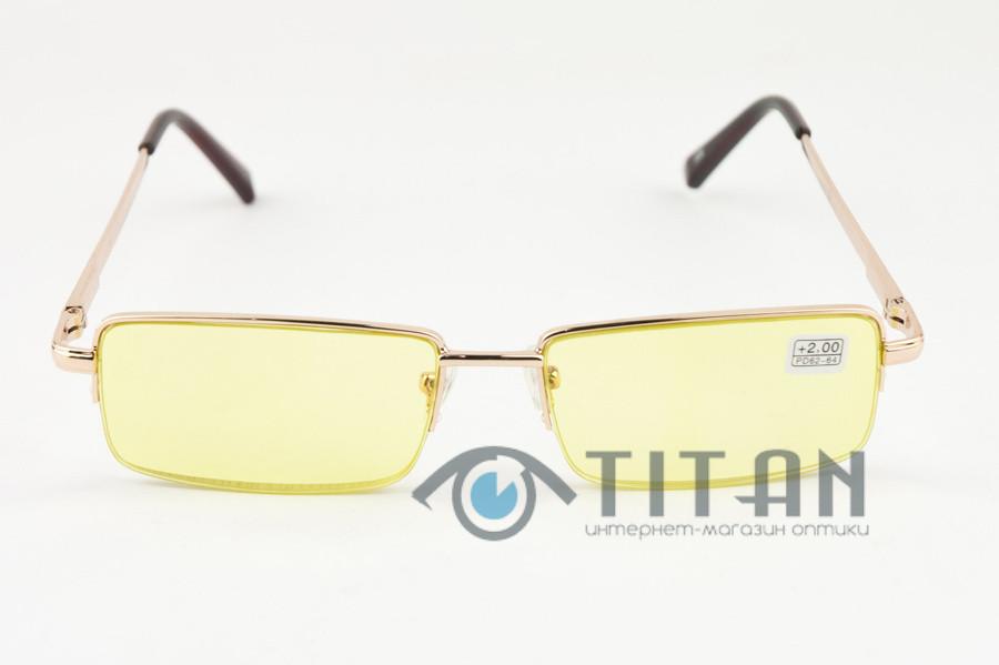 Водительские очки с диоптриями антифары 339