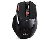 Мышь REAL-EL RM-500 черная USB