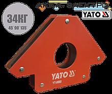 Магнитный держатель для сварки (34кг.) YATO - 0865