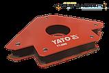 Магнітний тримач для зварювання (34кг.) YATO - 0865, фото 2