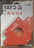 Магнітний тримач для зварювання (34кг.) YATO - 0865, фото 3