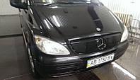 "Зимова накладка Mercedes Vito-Viano W639 2004-2010 на решітку радіатора глянцева ""FLY"""