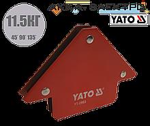 Магнитный держатель для сварки (11.5кг.) YATO - 0863