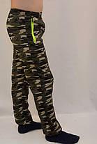 Спортивні штани камуфляжні зимові з кишенями на блискавці - розмір М, фото 3