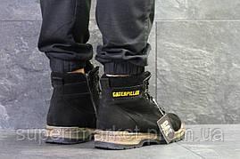 Ботинки Caterpillar черные  зима , код6622, фото 2