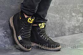Ботинки Caterpillar черные  зима , код6622, фото 3