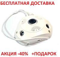 IP-камера T9 Ип камера вай фай видеонаблюдение видеокамера беспроводная поворотная ночная съемка