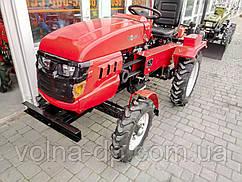 Міні трактор FORTE МТ-151S + фреза