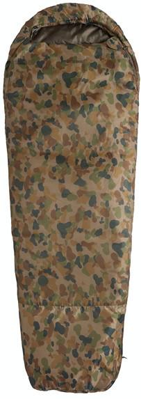 Спальный мешок Caribee Deploy 1300 / 0°C Auscam (Right), 921417