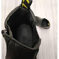 Ботинки детские осенние PU-кожа черные, фото 3
