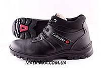 Мужские зимние ботинки  45 р черные Roksol арт 1414