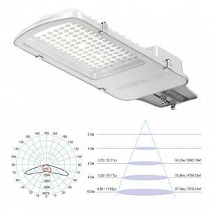 LED фонарь уличный VIDEX 50W VL-SL05-505 white, фото 2