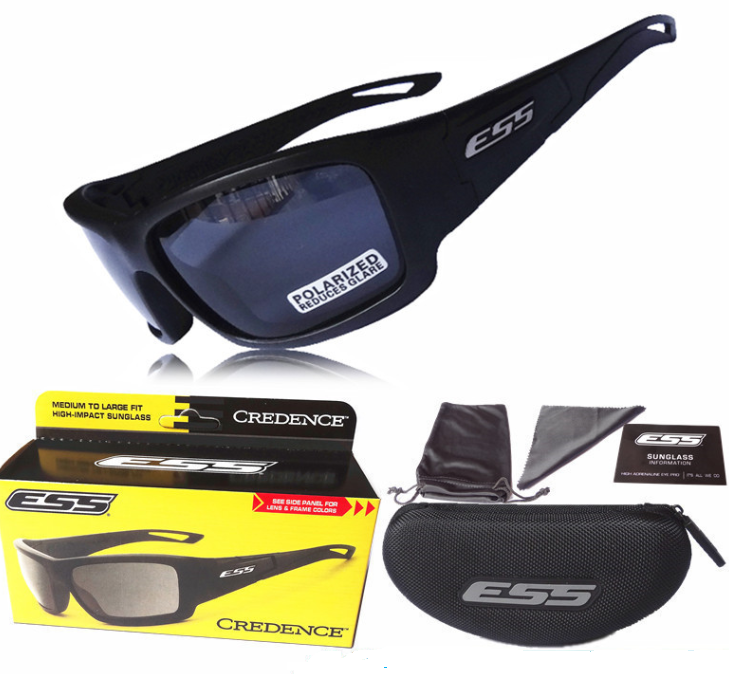 Очки тактические спортивные ESS Rollbar Black polarized lens