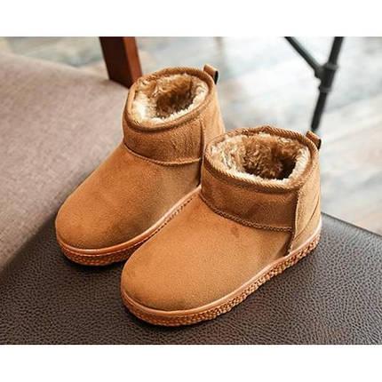 Угги детские зимние коричневые, фото 2
