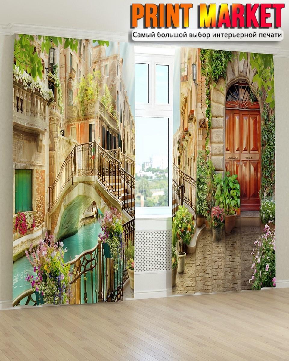 Фотошторы фрески Венеция