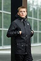 """Куртка парка мужская осенняя """"Тарас"""" черная"""