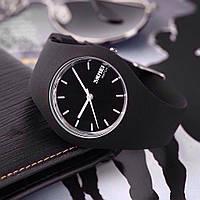 Skmei  9068 rubber  черные женские  классические часы, фото 1