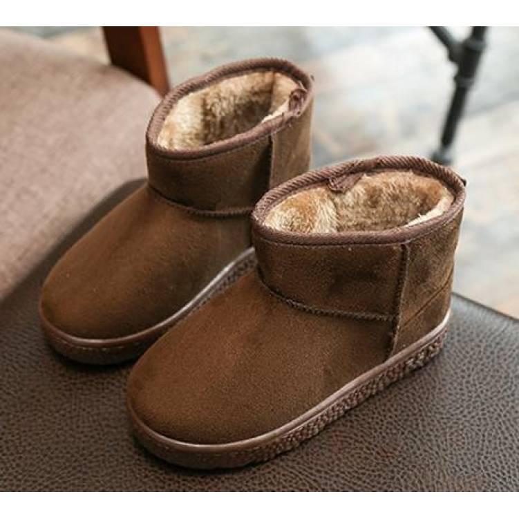 Угги детские зимние коричневые