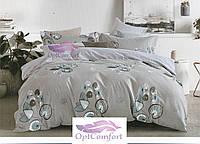 Двуспальный комплект постельного белья Цветочный принт
