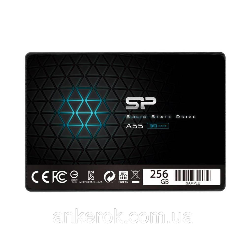 SSD накопитель Silicon Power A55 256 Gb (SP256GBSS3A55S25)