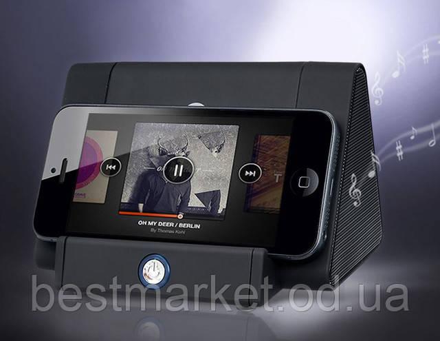 Мини-динамик AU-318 + подставка д/телефона